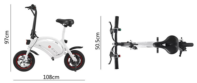 F - wheel DYU Electric Bike03