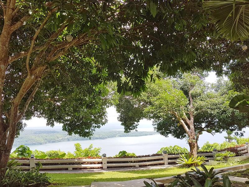 Taal lake view at Mertola's   www.wearejuanderers.com