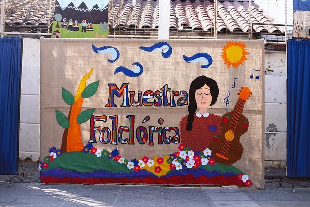 Muestra Folclórica 2017 Jornada Mañana