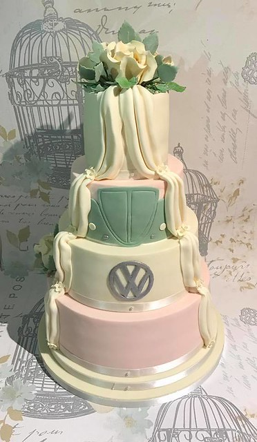 Cake by Trula Marie's Little Cake Company.