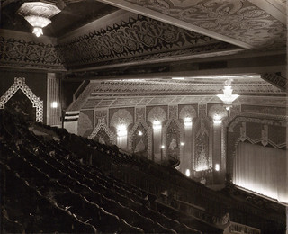 Auditorium from the balcony at the Paramount Theatre, Newcastle