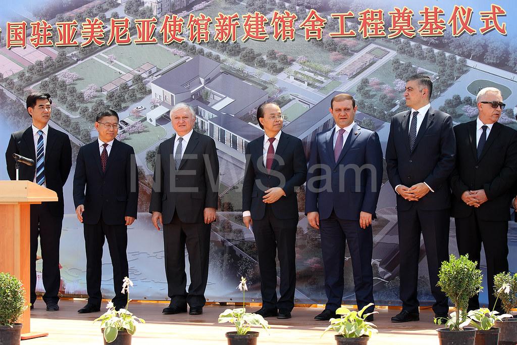 Չինաստանը Հայաստանում կկառուցվի մեծությամբ երկրորդ դեսպանատունը