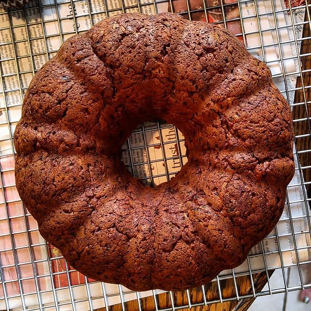 Double Squash Cake