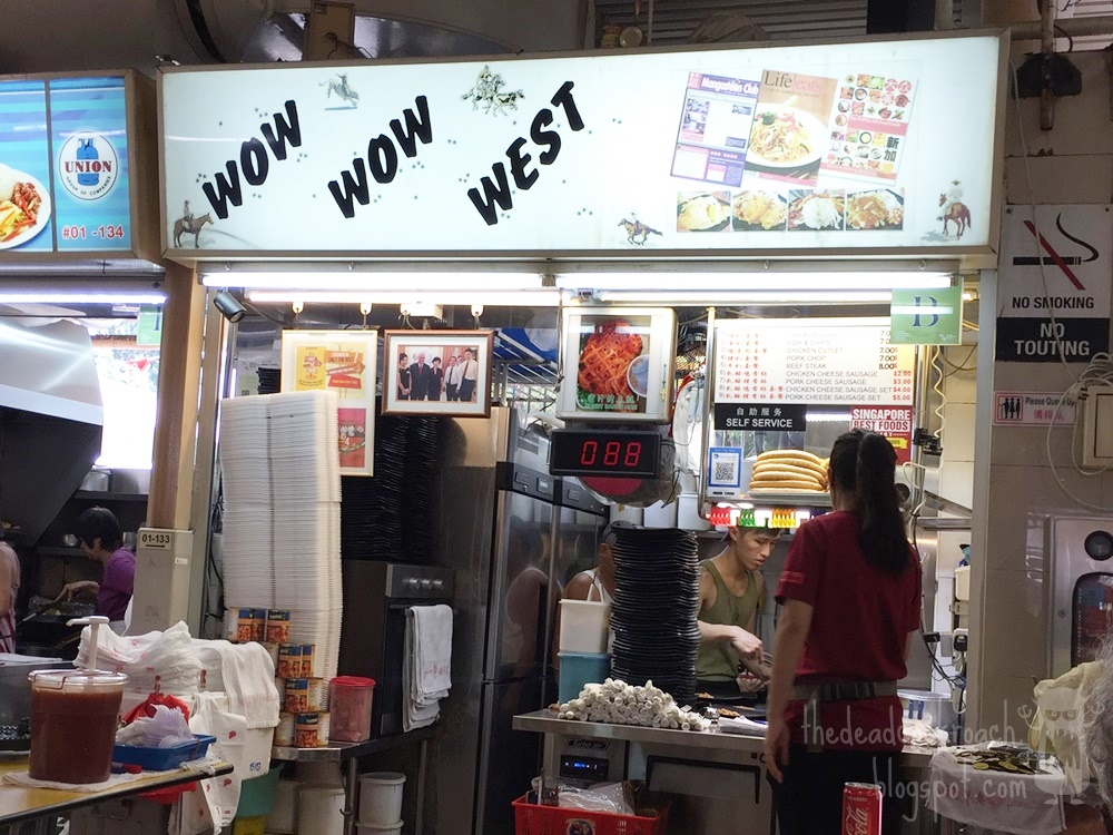 abc brickworks market & food centre, abc market, chicken chop, food, food review, review, western food, wow wow west, abc brickworks