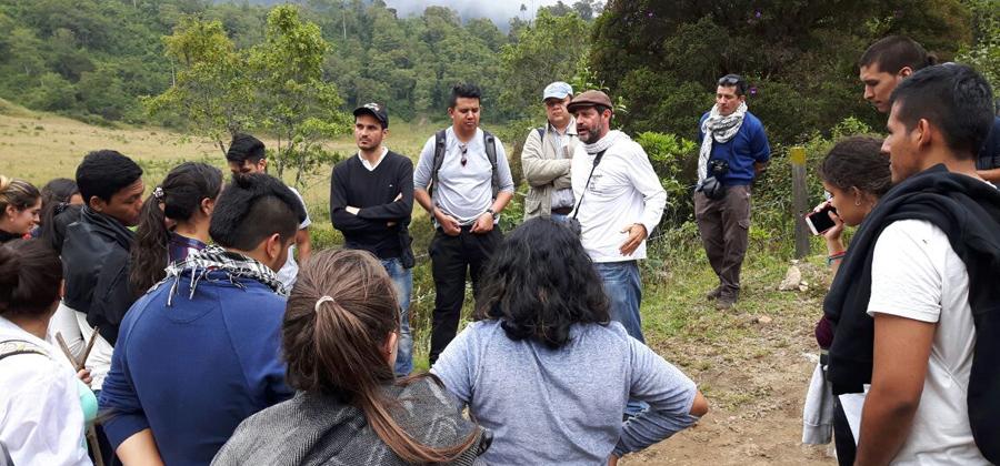 Practica estudiantes en Toche