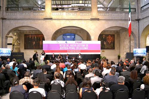 Retos del Nuevo Sistema de Justicia Penal en la CDMX. 15/Ago/17