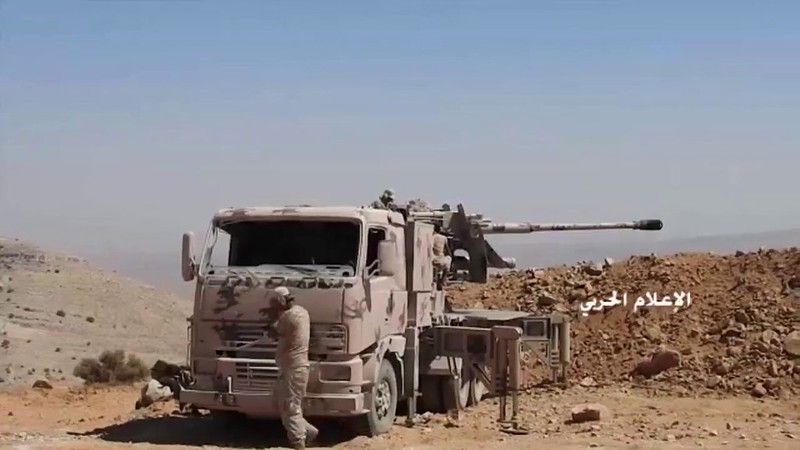 Truck-with-100mm-KS-19-syria-c2017-spz-1