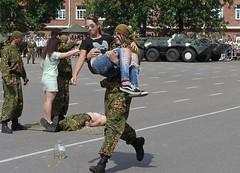 Как День десантников отметили в Витебске