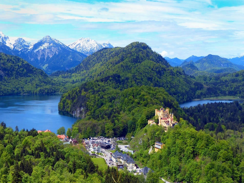 Hohenschwangau Castle. Credit xlibber,flickr