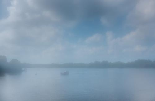 misty river crossing