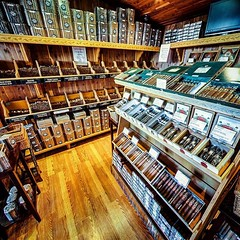 Hatuey Cigars - Reno #NV. To say this is a family operated establishment is an understatement. The Hatuey family grows, ferments & ages all of their own tobacco at their factory in the Dominican Republic, then ships it to be hand-rolled at their 3 shops i