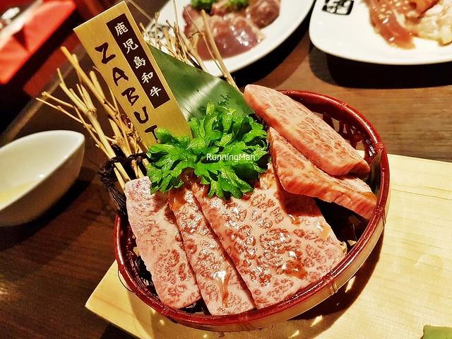 Raw Kagoshima Beef Wagyu Chuck Karubi