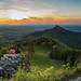 Last shade of the sun (Burg Hohenzollern Panorama) by FH | Photography