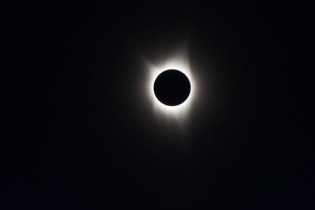 Total Eclipse of the, Nikon D5200, Sigma 70-300mm F4-5.6 DG OS