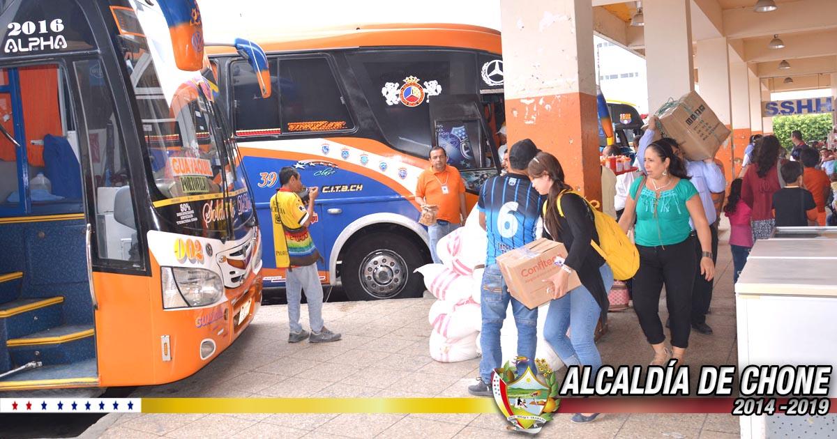 No se reportaron incidentes en la terminal terrestre Sixto Durán Ballén por el feriado