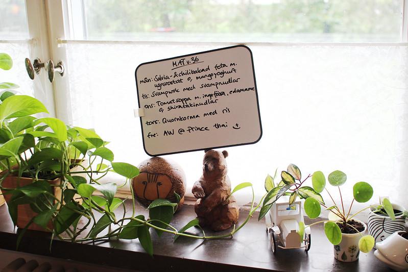 växter, aw och tevespel