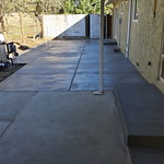 Concrete Patio Expanded In Vacaville