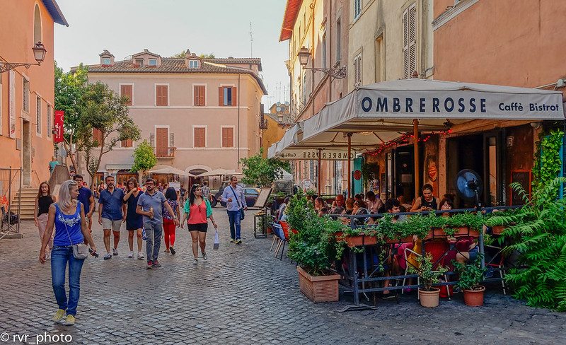 Via della Paglia, Transtevere, Roma