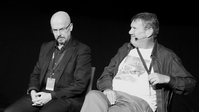 Edinburgh International Book Festival 2017 - David Bishop & Steve McManus 05