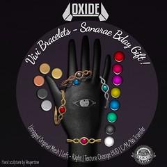 OXIDE Vivi Bracelets - Sanarae 2nd Bday Gift