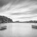 Drifting boats, scudding clouds