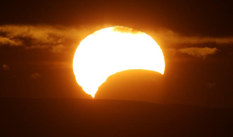 L'éclipse totale du Soleil : L'effet sur un capteur de reflex