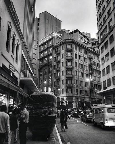 São Paulo antiga - rua 25 de março