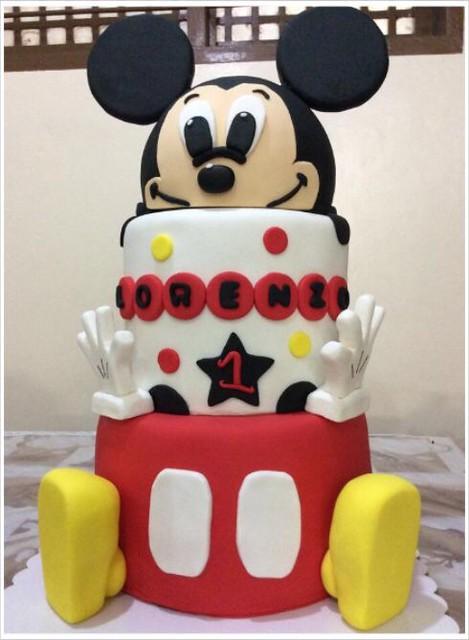 Mickey Cake by Arlina's Gourmet Cakes