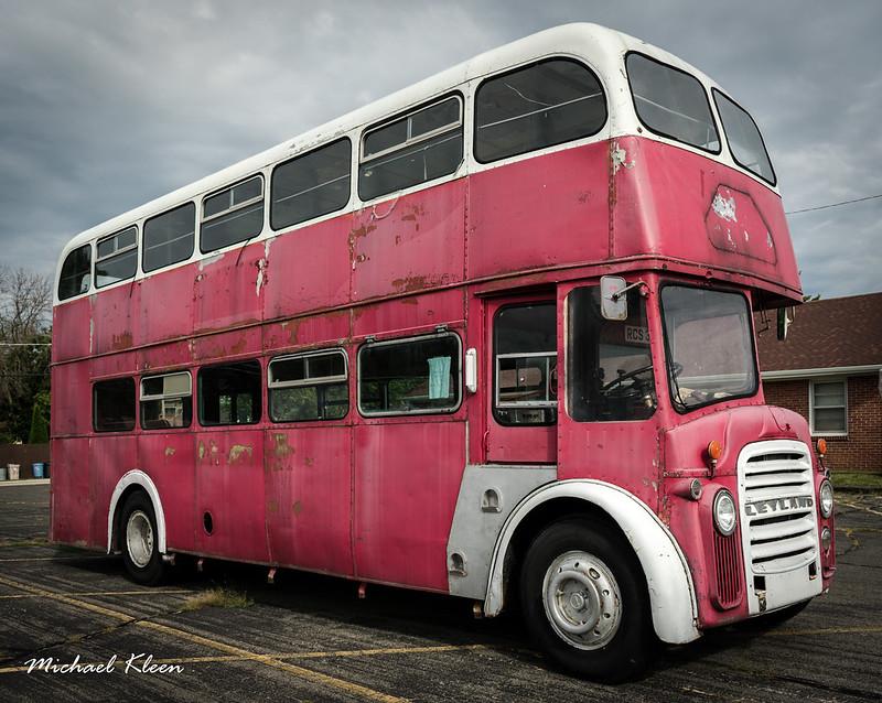 Leyland Titan Double-Decker Bus