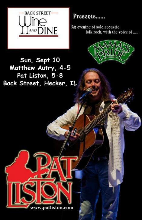 Pat Liston 9-10-17