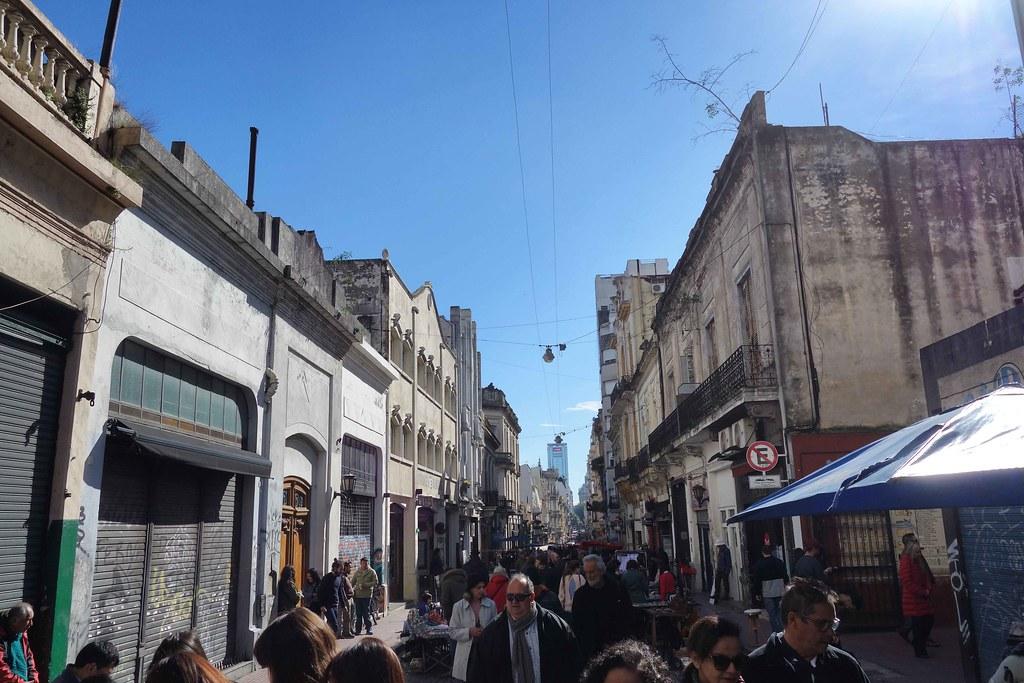 Buenos Aires - San Telmo - Sunday