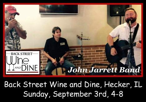 John Jarrett Band 9-3-17