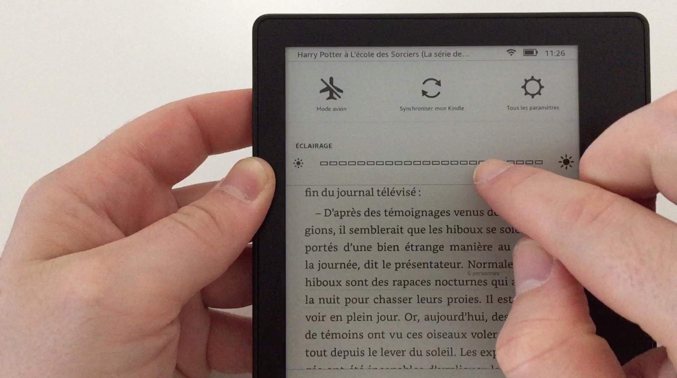 20170827 Test de la liseuse électronique Kindle OASIS Amazon 27