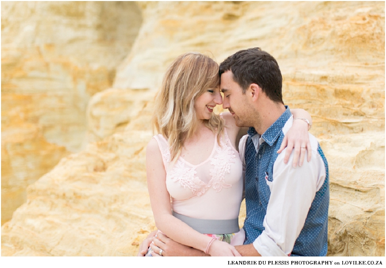 Spring engagement photos by Leandrie du Plessis