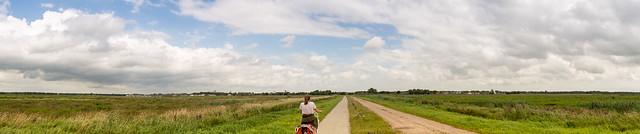 auf dem Weg nach Groningen