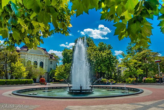 Stefan Stambolov Square - Plovdiv, Bulgaria.