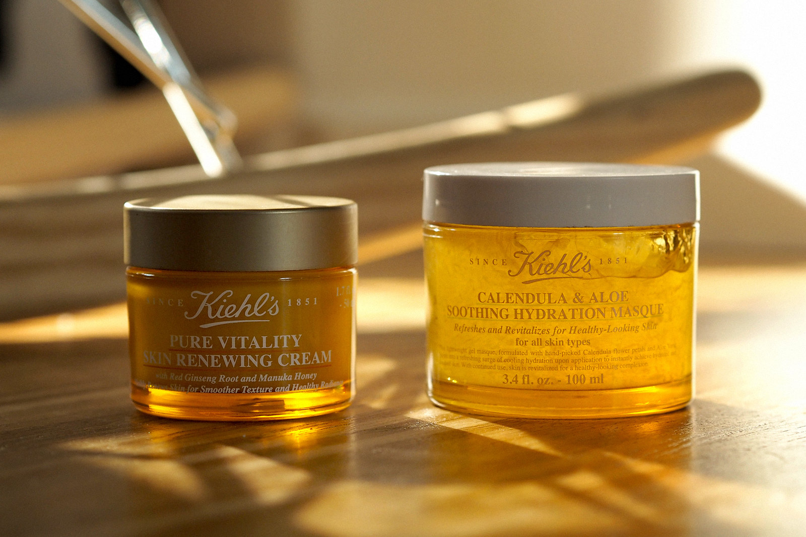 kiehl's morning routine beauty beautyblogger golden light amber beautiful wood calendula cleansing moisturizing mask skincare apothecary video blogger vlogger cats & dogs beautblog ricarda schernus düsseldorf max bechmann fotografie film nrw blog 4