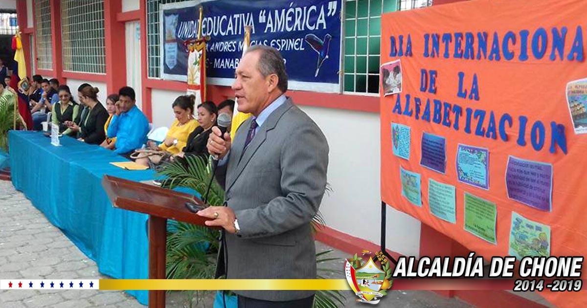 Día Internacional de la Alfabetización se conmemoró en Hora Cívica