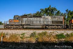 UP 8799   EMD SD40T-2   CSX Memphis Terminal Subdivision