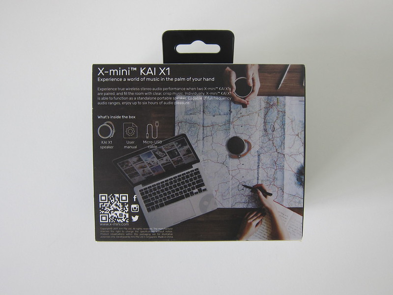 X-mini KAI X1 - Box Back