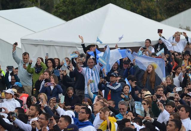 La primera misa de Francisco en Colombia