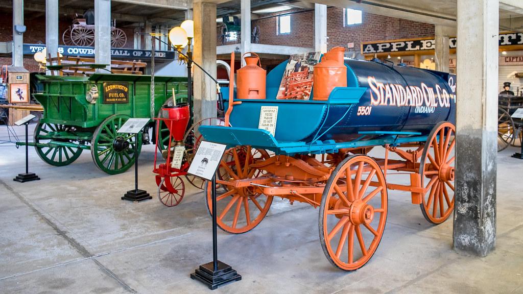 Le musée western de Stockyards Station (Texas) 36955122750_8823960b2e_b