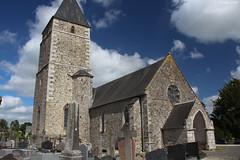 Courcy : l'église Saint-Lô (XIIIe siècle) - Photo of Guéhébert