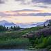 Sunset over the mountains, Iceland by Petr Újezdský
