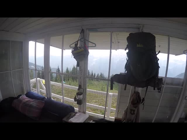 2573 GoPro video of the interior of the Miners Ridge Lookout Tower