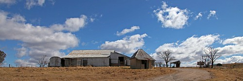 Farm Buildings at Aaron's Pass