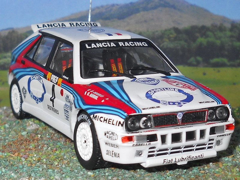 Lancia Delta Integrale - Montecarlo 1992