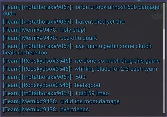 Orion alive took 600+ dmg