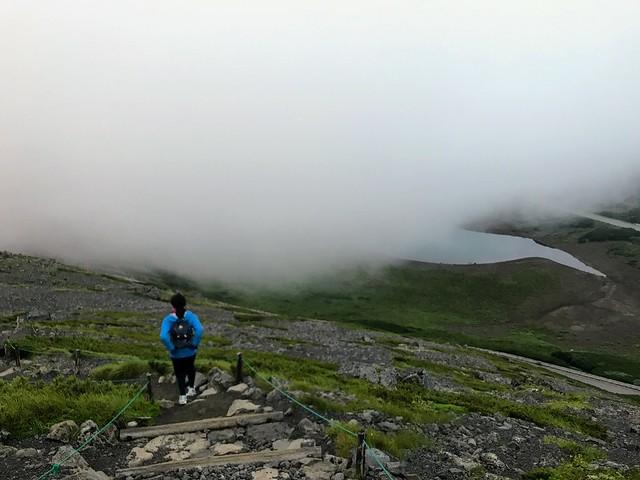 乗鞍岳 大黒岳から鶴ヶ池