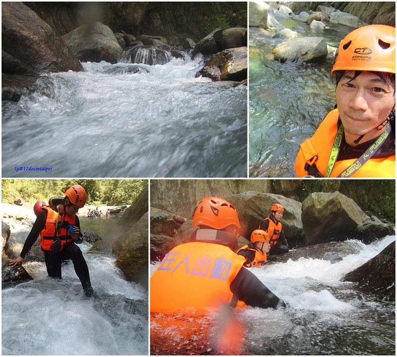 宜蘭溯溪-狂人出動-鹿皮溪-金岳瀑布-17度c隨拍 (11)